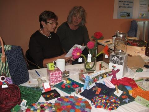 Fairkaufladen und Fairtrade Gemeinde Petershausen beim Tag der Regionen 2016 in Erdweg