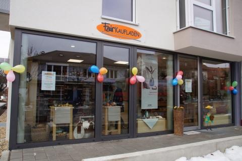Der Fairkaufladen ist in die Bahnhofstraße 21 a umgezogen