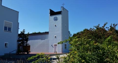 Faire Willkommensgrüße für Pfarrer Robert Maier und Pfarrerin Elisabeth Schulz