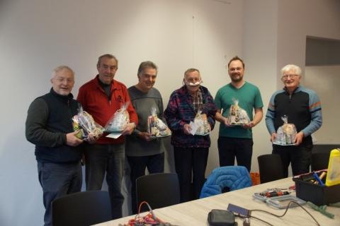 Faire Geschenke für die Reparateure im vhs RepairCafe