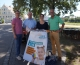 Freie Wähler machen mit bei der Plakataktion des Bund Naturschutz und des Eine Welt Netzwerk Bayern e.V.
