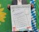Landtagskandidat Thomas Kreß von Bündnis 90/Die Grünen beteiligt sich an der Plakataktion zur Landtagswahl