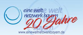 Eine Welt Netzwerk Bayern e.V. wird 20 Jahre – Fairkaufladen ist 15 Jahre Mitglied