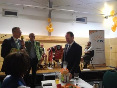 Frei und fair – Die Freien Wähler Petershausen e.V. feierten ihr 20jähriges Bestehen