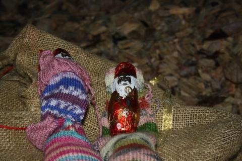 Der Nikolaus ist sehr stolz auf die Petershausener