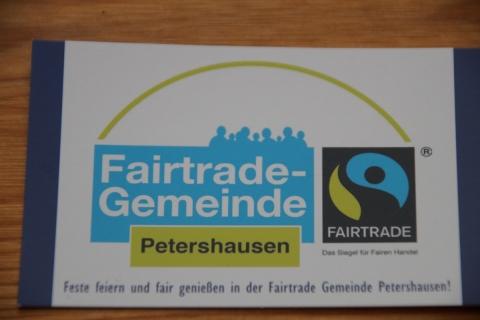 Petershausen – Vorreiterin für mehr Fairtrade-Gemeinden im Landkreis? Landkreis-Grüne machen eine Online-Veranstaltung zu dem Thema