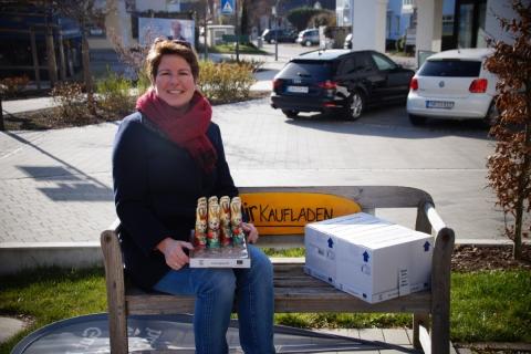 Gartenbauverein verschenkt 50 faire Schoko-Osterhasen an das Danuvius Haus Petershausen