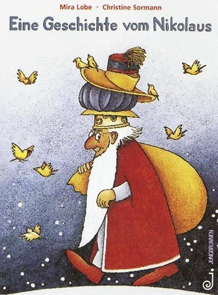 Eine Geschichte vom Nikolaus, der seine Beschofsmütze verlor