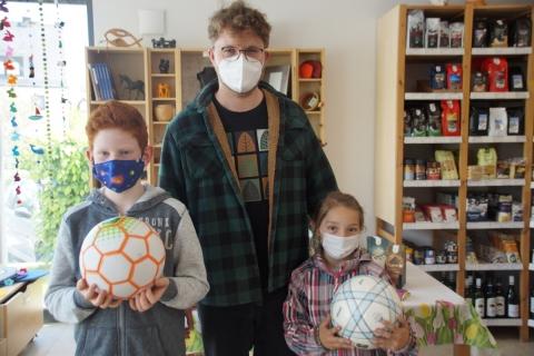 Fairer Fußball für den Hort im Haus für Kinder Arche Noah